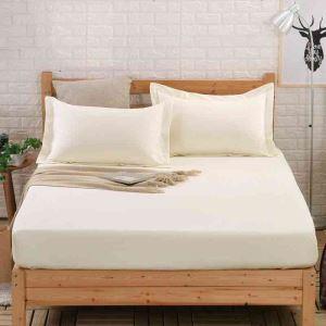 ボックスシーツ ベッドシーツ マットレスカバー ベッド用品 単品 純綿 180*200cm B4029