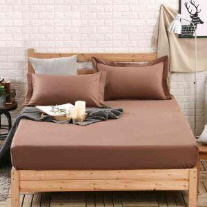 ボックスシーツ ベッドシーツ マットレスカバー ベッド用品 単品 純綿 180*200cm B4033