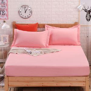ボックスシーツ ベッドシーツ マットレスカバー ベッド用品 単品 純綿 180*200cm B4034