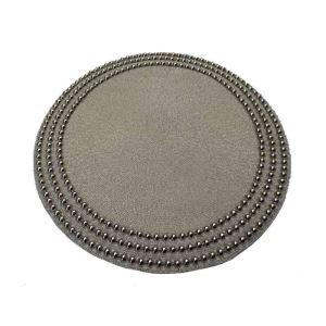 ランチョンマット プレースマット テーブルマット ビーズ編み 手作り ガラス玉 TL013