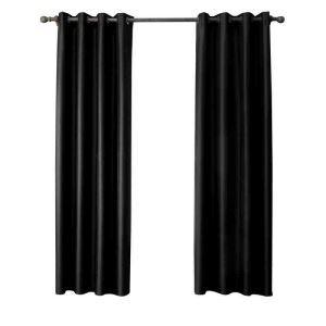 遮光カーテン 無地柄 カーテン 遮熱 防炎 北欧風 オシャレ お得サイズ グロメット式(1枚) WC05005
