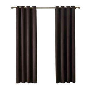 遮光カーテン 無地柄 カーテン 遮熱 防炎 北欧風 オシャレ お得サイズ グロメット式(1枚) WC05012
