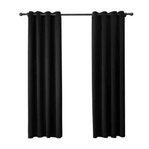 遮光カーテン 無地柄 カーテン 遮熱 防炎 北欧風 オシャレ お得サイズ グロメット式(1枚) WC05016