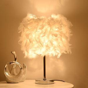 テーブルランプ スタンドライト 間接照明 卓上照明 ナイトライト 枕元ライト 羽シェード