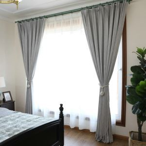 遮光カーテン オーダーカーテン 寝室 リビング 無地柄 寝室 純色(1枚)