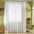 レースカーテン オーダーカーテン UVカット 木柄 刺繍 オシャレ シアーカーテン(1枚)