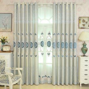 遮光カーテン オーダーカーテン 寝室 リビング 麻&綿 北欧風 1級遮光カーテン(1枚)