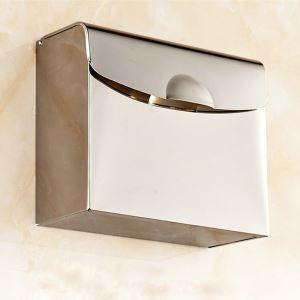 トイレットペーパーボックス ペーパーホルダー 紙巻器 トイレ用品 ステンレス鋼
