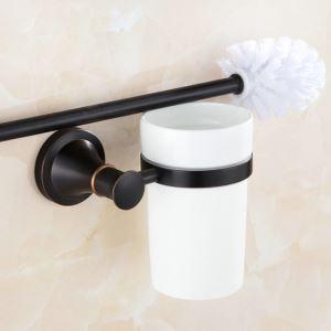 トイレブラシホルダー トイレ用品 トイレ掃除 トイレブラシ&ポット付き アンティーク調 ORB