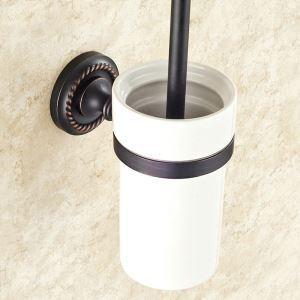 トイレブラシホルダー トイレ用品 トイレ掃除 トイレブラシ&ポット付き ヴィンテージ ORB