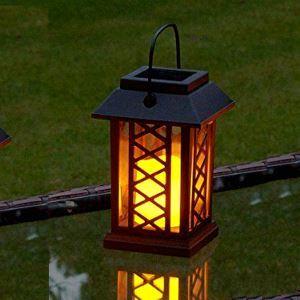 LEDソーラーライト LEDキャンドル ガーデンライト 庭園灯 ランタンライト LEH55154