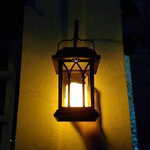 LEDソーラーライト LEDキャンドル ガーデンライト 庭園灯 ランタンライト LEH55153W
