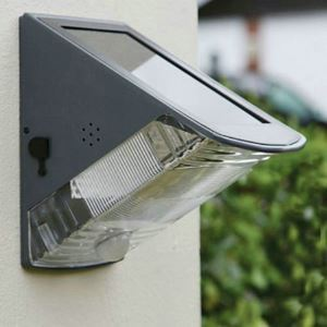 LEDソーラーライト 玄関ライト 屋外ライト 門柱灯 人感センサーLEH53369
