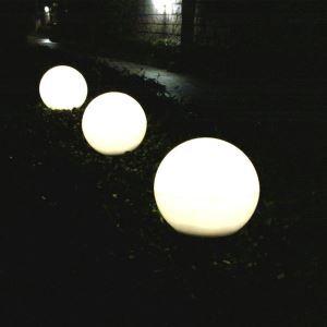 LEDソーラーライト ガーデンソーラーライト 屋外ライト 庭園灯 キノコ型 カラフル LEH32004 13cm