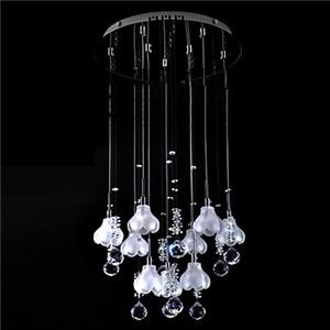 シーリングライト 天井照明 照明器具 リビング照明 クリスタル 9灯