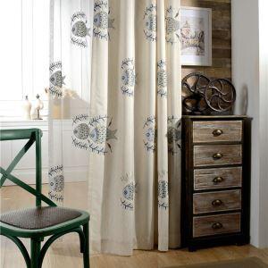 遮光カーテン オーダーカーテン 刺繍 魚柄 和風(1枚)
