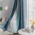 遮光カーテン オーダーカーテン ジャカード 対照色 おしゃれ 3級遮光カーテン(1枚)
