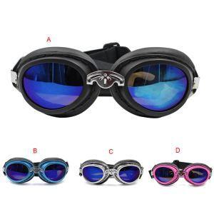 ペット用メガネ サングラス 眼鏡 折り畳み 防水 紫外線予防 日焼き防ぐ 目の守り お出かけ