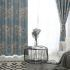 遮光カーテン オーダーカーテン 捺染 寝室用 オシャレ 1級遮光カーテン(1枚)