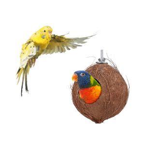 インコの巣 鳥の巣 ハムスターの巣 巣箱 ココヤシ巣 オウム ナチュラル 天然