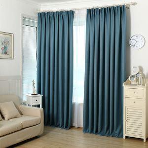 遮光カーテン オーダーカーテン 寝室 リビング 現代 純色 リビング(1枚)