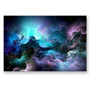 絵画 油彩画 アートパネル 装飾絵画 壁飾り 星雲 プレゼント 1pcs 30*45cm