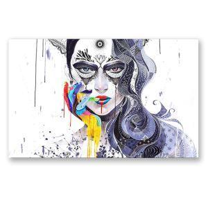 絵画 油彩画 アートパネル 装飾絵画 壁飾り 少女 プレゼント 1pcs 30*45cm