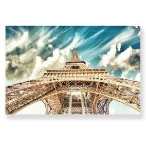 絵画 油彩画 アートパネル 装飾絵画 壁飾り エッフェル塔 プレゼント 1pcs 30*45cm