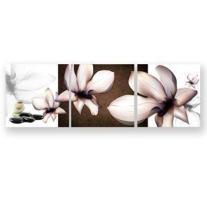 絵画 油彩画 アートパネル 装飾絵画 壁飾り 花柄 プレゼント 3pcs 30*30cm