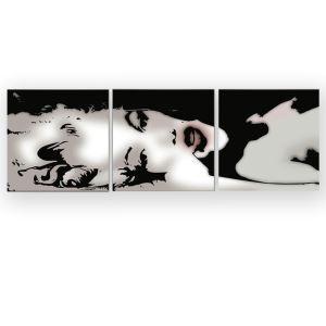 絵画 油彩画 アートパネル 装飾絵画 壁飾り マリリン・モンロー プレゼント 3pcs 30*30cm