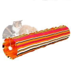 猫おもちゃ キャットトンネル トンネルスパイラル 猫 おもちゃ カラー
