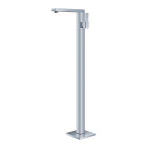 床置きシャワー水栓 床立ち上げ式浴槽蛇口 冷熱混合栓 水栓金具 クロム G025