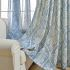 遮光カーテン オーダーカーテン 捺染 花柄 和風 3級遮光カーテン(1枚)