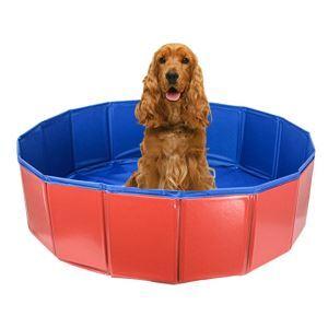 ペット用プール バスタブ お風呂用品 折り畳み可能 水泳 遊ぶ シャワー 夏 暑さ 犬用