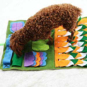 ペットおまちゃ 知育玩具 餌マット 噛むおもちゃ 耐噛み 嗅覚活用 訓練毛布 集中力向上 運動不足 ストレス解消