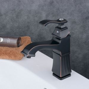洗面水栓 バス蛇口 冷熱混合水栓 水道蛇口 手洗器水栓 ORB BL6311B
