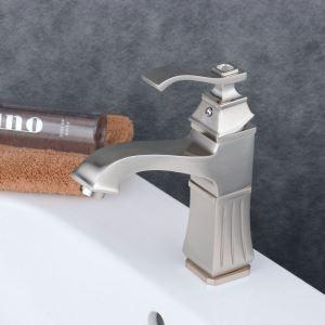 洗面水栓 バス蛇口 冷熱混合水栓 水道蛇口 手洗器水栓 ヘアライン BL6311N