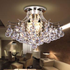 シーリングライト 照明器具 天井照明 玄関照明 クリスタル オシャレ 3灯