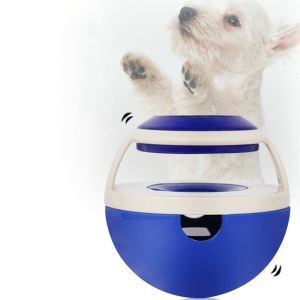 ペットおもちゃ 餌入れボール 餌やりおもちゃ 知育玩具 こぼし 早食い防止 ストレス解消