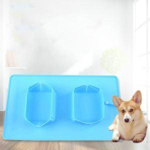 ペット用食器 ボウル 折りたたみ式 給水 給食 犬猫用 携帯便利 シリコン製 旅行用