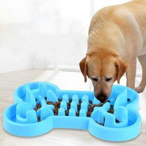 ペットボウル 早食い防止食器 給食器 ゆっくり食べる 過剰給餌防止 健康志向 肥満解消