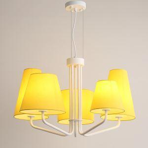 シャンデリア 照明器具 リビング照明 寝室照明 店舗 吹き抜け オシャレ 6灯 2色 QM6601