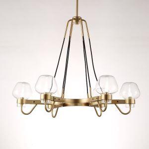 シャンデリア 照明器具 リビング照明 店舗照明 天井照明 北欧風 6灯 QM6604L6P