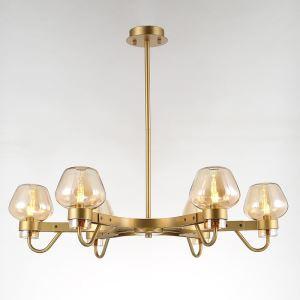 シャンデリア リビング照明 寝室照明 店舗照明 北欧風 3色 6灯