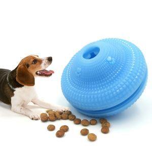 ペットおもちゃ おやつおもちゃ 餌やりおもちゃ 独楽 噛むおもちゃ 餌入れ 遊び