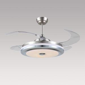 LEDシーリングファンライト 照明器具 リビング照明 ダイニング照明 オシャレ 3階段調色 LED対応 リモコン付 QM20051