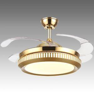 LEDシーリングファンライト 照明器具 リビング照明 ダイニング照明 オシャレ 3階段調色 LED対応 リモコン付 QM5018142