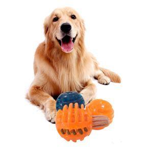 ペットおもちゃ ボール 餌入れ 噛むおもちゃ 早食い防止 肥満対策 ストレス解消
