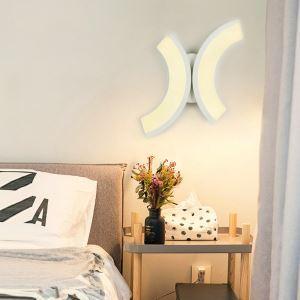 LED壁掛けライト ウォールランプ ブラケット 間接照明 玄関照明 オシャレ LED対応 月型 CI527