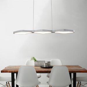 LEDペンダントライト 照明器具 リビング照明 天井照明 食卓照明 オシャレ LED対応 菱形 CI525